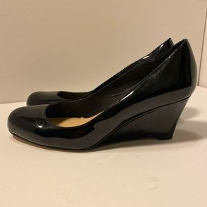 Kate Spade Patent leather wedge